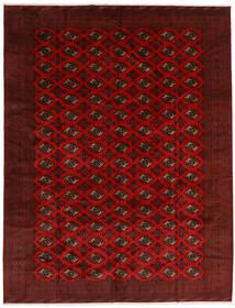Turkaman Tappeto 296X383 Orientale Fatto A Mano Rosso Scuro/Marrone Scuro Grandi (Lana, Persia/Iran)