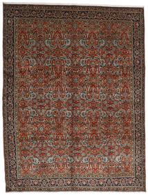 Tabriz Tappeto 302X396 Orientale Fatto A Mano Rosso Scuro/Marrone Scuro Grandi (Lana, Persia/Iran)