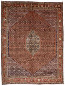 Bidjar Tappeto 308X408 Orientale Fatto A Mano Rosso Scuro/Marrone Scuro Grandi (Lana, Persia/Iran)