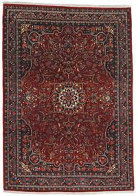 Bidjar Tappeto 220X315 Orientale Fatto A Mano Rosso Scuro/Grigio Scuro (Lana, Persia/Iran)