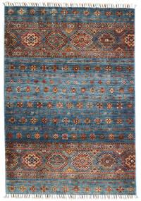 Shabargan Tappeto 103X152 Moderno Fatto A Mano Grigio Chiaro/Grigio Scuro (Lana, Afghanistan)