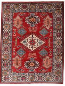 Kazak Tappeto 152X198 Orientale Fatto A Mano Rosso Scuro/Marrone Scuro (Lana, Afghanistan)
