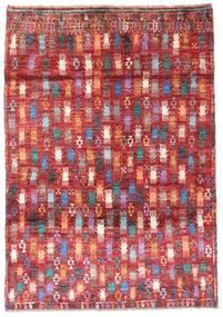 Moroccan Berber - Afghanistan Tappeto 115X169 Moderno Fatto A Mano Rosso Scuro/Ruggine/Rosso (Lana, Afghanistan)
