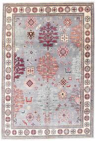 Kazak Tappeto 120X176 Orientale Fatto A Mano Violet Clair/Rosa Chiaro (Lana, Afghanistan)