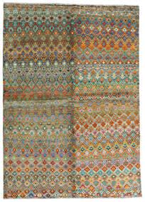 Moroccan Berber - Afghanistan Tappeto 171X243 Moderno Fatto A Mano Marrone/Grigio Scuro (Lana, Afghanistan)