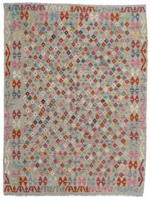 Kilim Afghan Old Style Tappeto 175X230 Orientale Tessuto A Mano Grigio Chiaro/Grigio Scuro (Lana, Afghanistan)