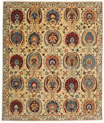 Kazak Tappeto 245X291 Orientale Fatto A Mano Beige Scuro/Marrone Scuro (Lana, Afghanistan)