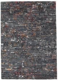 Damask Collection Tappeto 162X229 Moderno Fatto A Mano Grigio Scuro/Grigio Chiaro ( India)