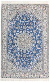 Nain 9La Tappeto 128X200 Orientale Fatto A Mano Grigio Chiaro/Bianco/Creme (Lana/Seta, Persia/Iran)
