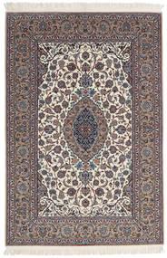 Isfahan Ordito In Seta Firmato Sanai Dust Tappeto 152X225 Orientale Fatto A Mano Grigio Chiaro/Beige (Lana/Seta, Persia/Iran)