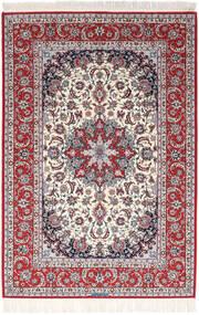 Isfahan Ordito In Seta Firmato Exitashari Tappeto 152X226 Orientale Fatto A Mano Marrone Scuro/Grigio Chiaro (Lana/Seta, Persia/Iran)