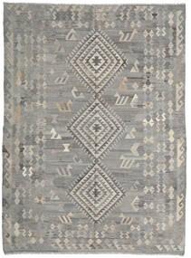 Kilim Ariana Tappeto 216X285 Moderno Tessuto A Mano Grigio Chiaro/Grigio Scuro (Lana, Afghanistan)