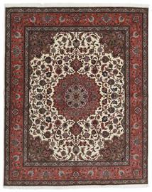 Tabriz 60 Raj Ordito In Seta Tappeto 201X248 Orientale Fatto A Mano Marrone Scuro/Rosso Scuro (Lana/Seta, Persia/Iran)