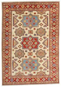 Kazak Tappeto 201X288 Orientale Fatto A Mano Marrone Chiaro/Ruggine/Rosso (Lana, Afghanistan)