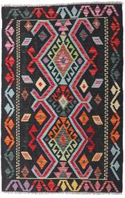 Kilim Afghan Old Style Tappeto 80X122 Orientale Tessuto A Mano Nero (Lana, Afghanistan)