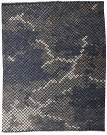 Kilim Moderni Tappeto 233X288 Moderno Tessuto A Mano Grigio Scuro (Lana, Afghanistan)