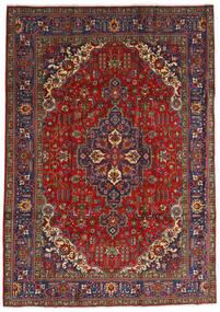 Tabriz Tappeto 240X333 Orientale Fatto A Mano Rosso Scuro/Grigio Scuro (Lana, Persia/Iran)