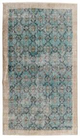 Vintage Heritage Tappeto 112X197 Moderno Fatto A Mano Grigio Chiaro/Blu Turchese (Lana, Persia/Iran)