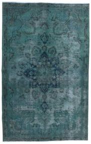 Vintage Heritage Tappeto 147X233 Moderno Fatto A Mano Turchese Scuro/Blu (Lana, Persia/Iran)