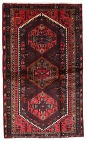 Hamadan Tappeto 110X185 Orientale Fatto A Mano Rosso Scuro/Marrone Scuro (Lana, Persia/Iran)