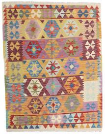 Kilim Afghan Old Style Tappeto 154X200 Orientale Tessuto A Mano Beige Scuro/Beige (Lana, Afghanistan)