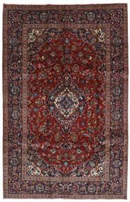 Keshan Tappeto 197X306 Orientale Fatto A Mano Rosso Scuro/Marrone Scuro (Lana, Persia/Iran)