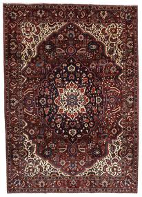 Bakhtiar Tappeto 214X303 Orientale Fatto A Mano Rosso Scuro/Marrone Scuro (Lana, Persia/Iran)
