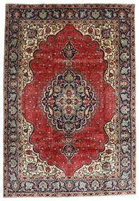 Tabriz Tappeto 207X295 Orientale Fatto A Mano Rosso Scuro/Marrone Scuro (Lana, Persia/Iran)