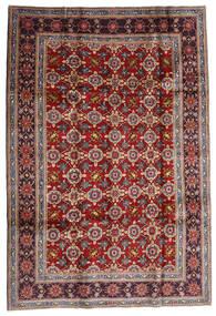 Keshan Tappeto 192X283 Orientale Fatto A Mano Rosso Scuro/Marrone Scuro (Lana, Persia/Iran)