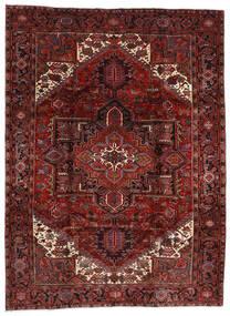 Heriz Tappeto 210X282 Orientale Fatto A Mano Rosso Scuro (Lana, Persia/Iran)