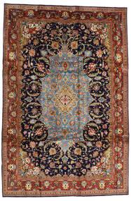 Saruk Sherkat Farsh Tappeto 231X344 Orientale Fatto A Mano Marrone Scuro/Porpora Scuro (Lana, Persia/Iran)