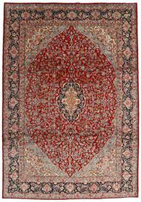Kirman Tappeto 250X359 Orientale Fatto A Mano Rosso Scuro/Beige Grandi (Lana, Persia/Iran)