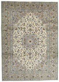Keshan Tappeto 259X358 Orientale Fatto A Mano Grigio Chiaro/Grigio Scuro Grandi (Lana, Persia/Iran)