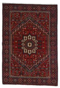 Gholtogh Tappeto 107X154 Orientale Fatto A Mano Rosso Scuro/Marrone Scuro (Lana, Persia/Iran)