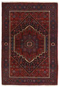 Gholtogh Tappeto 104X152 Orientale Fatto A Mano Rosso Scuro (Lana, Persia/Iran)