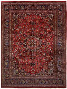 Mashad Tappeto 296X393 Orientale Fatto A Mano Rosso Scuro/Grigio Scuro Grandi (Lana, Persia/Iran)