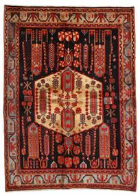 Afshar Tappeto 171X234 Orientale Fatto A Mano Rosso Scuro/Marrone Scuro (Lana, Persia/Iran)