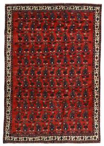 Afshar Tappeto 172X250 Orientale Fatto A Mano Rosso Scuro/Ruggine/Rosso (Lana, Persia/Iran)