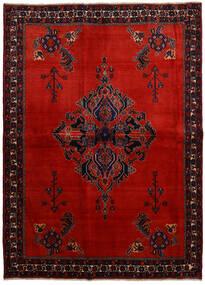 Afshar Tappeto 166X228 Orientale Fatto A Mano Rosso Scuro/Ruggine/Rosso (Lana, Persia/Iran)