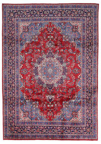 Mashad Tappeto 247X344 Orientale Fatto A Mano Grigio Chiaro/Rosso (Lana, Persia/Iran)