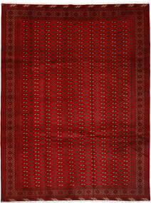 Turkaman Tappeto 252X337 Orientale Fatto A Mano Rosso/Ruggine/Rosso Grandi (Lana, Persia/Iran)