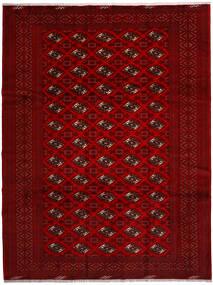 Turkaman Tappeto 258X344 Orientale Fatto A Mano Rosso/Rosso Scuro/Marrone Scuro Grandi (Lana, Persia/Iran)