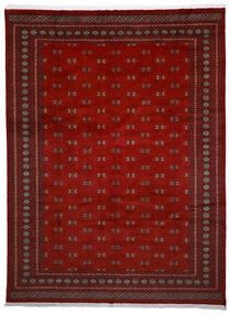 Pakistan Bukara 2Ply Tappeto 272X364 Orientale Fatto A Mano Rosso Scuro/Rosso Grandi (Lana, Pakistan)
