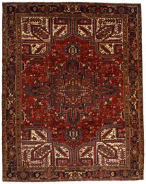 Heriz Tappeto 257X322 Orientale Fatto A Mano Rosso Scuro/Marrone Scuro Grandi (Lana, Persia/Iran)