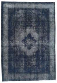 Vintage Heritage Tappeto 197X283 Moderno Fatto A Mano Blu Scuro/Grigio Scuro (Lana, Persia/Iran)