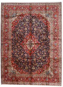 Keshan Tappeto 296X400 Orientale Fatto A Mano Rosso Scuro/Porpora Scuro Grandi (Lana, Persia/Iran)