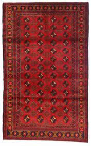 Beluch Tappeto 115X185 Orientale Fatto A Mano Rosso Scuro/Ruggine/Rosso (Lana, Afghanistan)