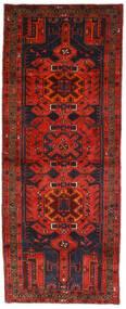 Hamadan Tappeto 112X289 Orientale Fatto A Mano Alfombra Pasillo Rosso Scuro/Marrone Scuro (Lana, Persia/Iran)