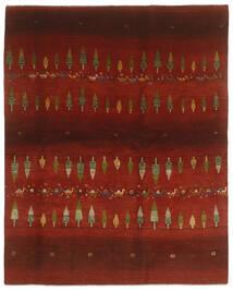 Gabbeh Persia Tappeto 203X256 Moderno Fatto A Mano Nero/Rosso Scuro (Lana, Persia/Iran)