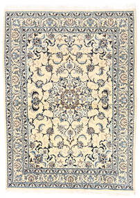 Nain Tappeto 150X210 Orientale Fatto A Mano Beige/Grigio Chiaro (Lana, Persia/Iran)
